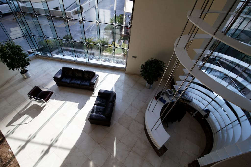 Grand entrance and foyer