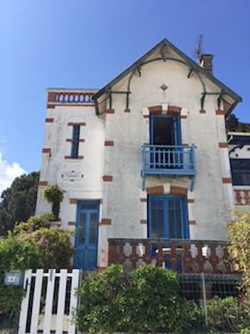 Tefkira- maison en bord de plage - Saint-Trojan-les-Bains - 別荘