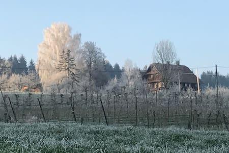 Charmante Wohnung auf Bauernhof - Dietwil - (ไม่ทราบ)