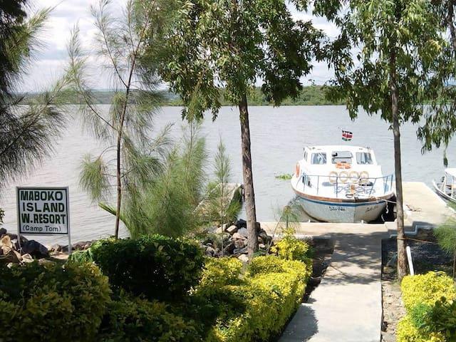Maboko Island Resort- Camp Tom