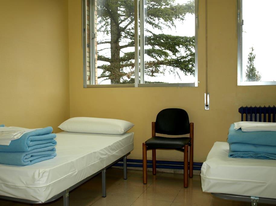 Triple Room In Hostel Near Camino De Santiago Apartments For Rent In Estella Navarra Spain