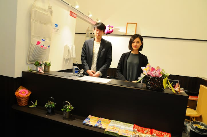 Namba station 5min/cheap and clean/Hostel/7502