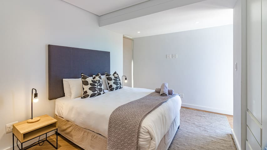 Bedroom three with modern finishes
