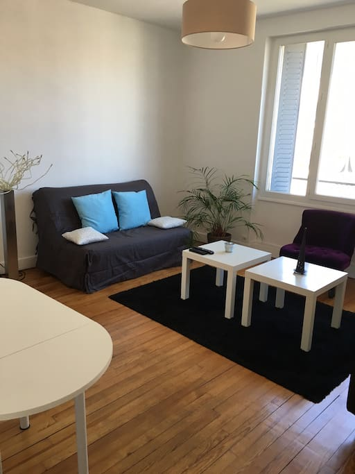 appartement lumineux proche gare et centre ville flats for rent in clermont ferrand auvergne. Black Bedroom Furniture Sets. Home Design Ideas