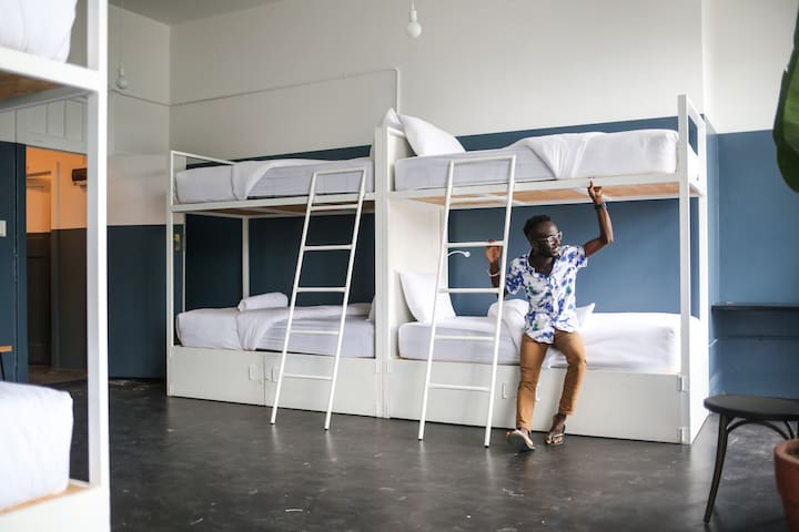 Sharing Room - Rate for 1 person in 8 bed Dorm