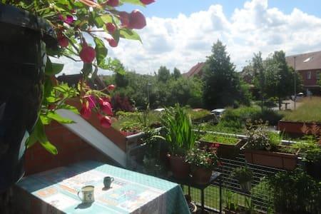 Sonnige Maisonette-Wohnung im Grünen - Eckernförde