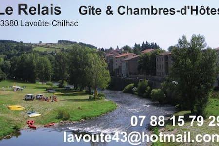 """""""Le Relais"""" Gîte de 6 à 10 pers - Lavoûte-Chilhac"""