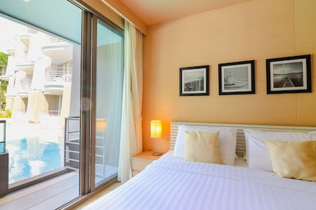 Beachfront❤️Pool Access❤️1BR @Baan San Kraam Hua Hin