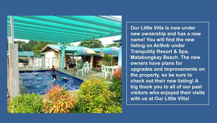 Our Little Villa at Matabungkay Beach Unit 2