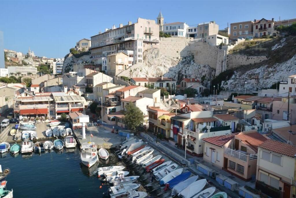 Marseille vue mer exceptionnelle chambres d 39 h tes louer marseille provence alpes c te d - Chambres d hotes marseille ...