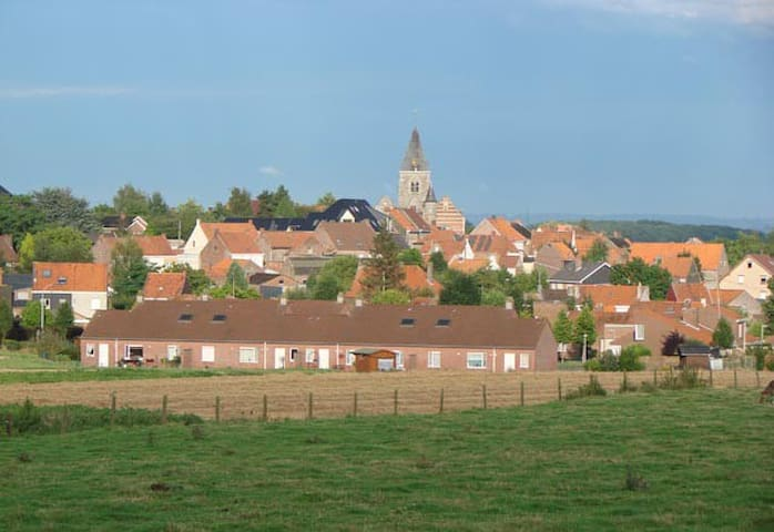 Pittoresk Dorpje Sint-Denijs - Zwevegem - บ้าน