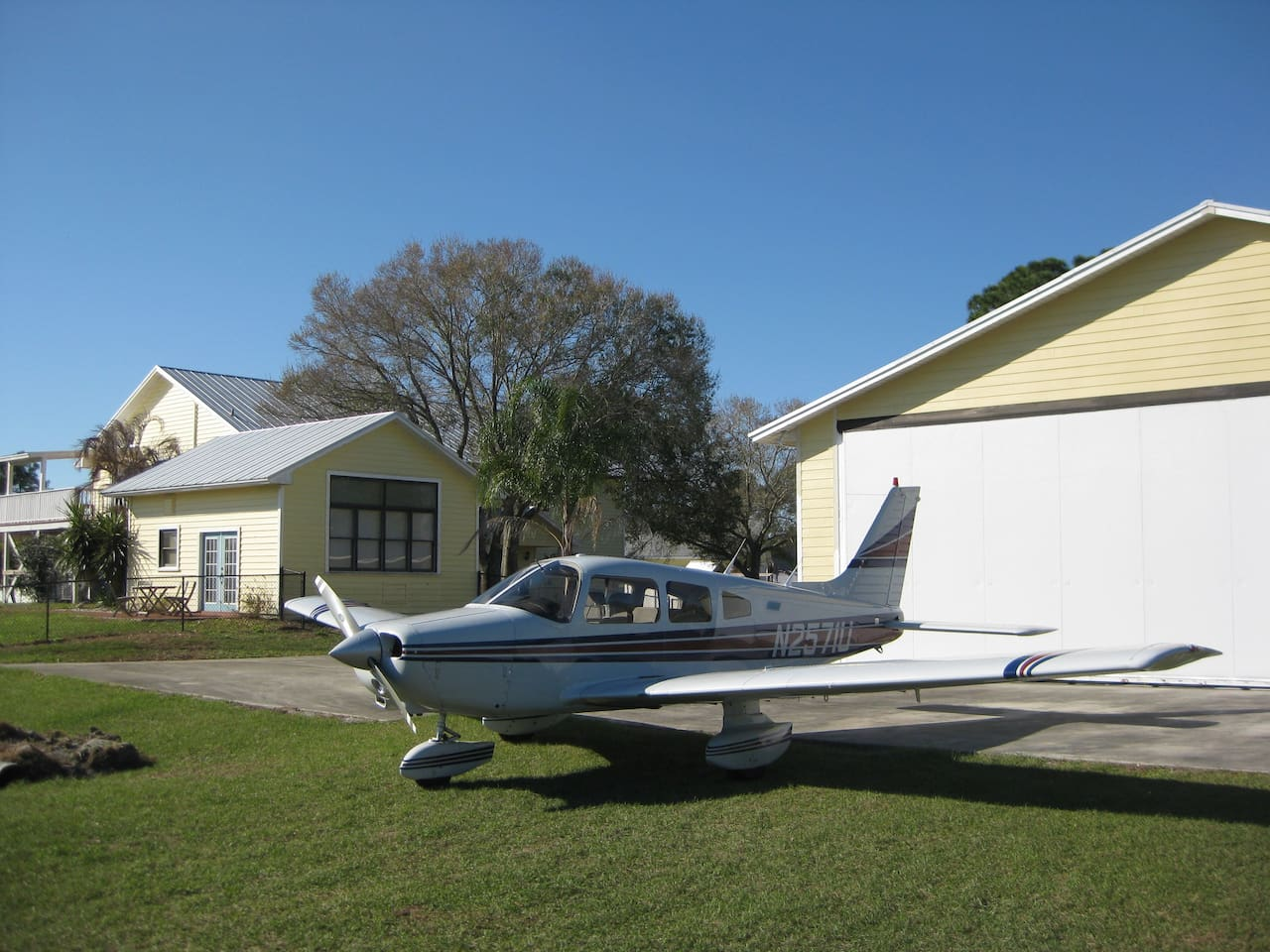 Your aircraft and apartment are ready to go