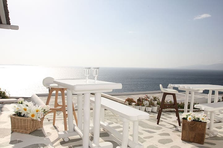Studio Mykonos View with patio 2 - Míkonos - Pis