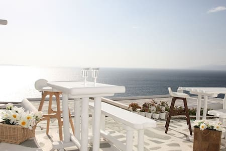 Studio Mykonos View with patio 2 - Mykonos - Appartement