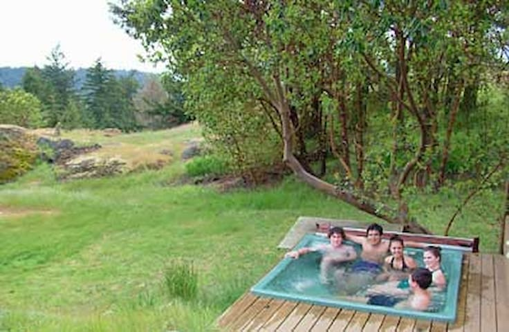 Sunny Knoll Hot Tub Suite - Friday Harbor