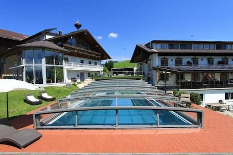 Apartment at an organic farm at Mondsee lake