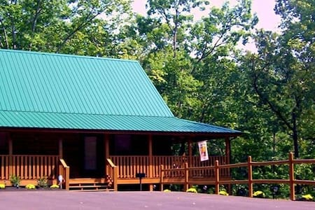 The New Frontier log cabin - winter special rates now available - Pigeon Forge