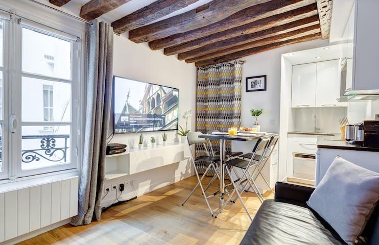 Le Marais Comfort Apartment, FREE Netflix