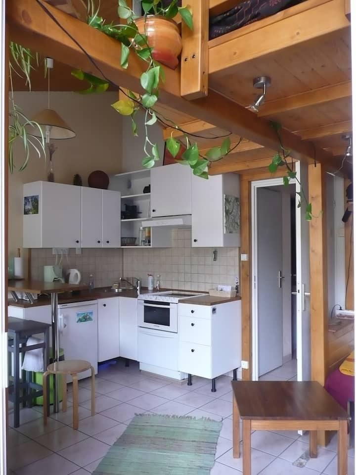 Appartement situation idéale Briançon tout confort