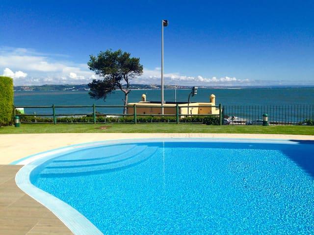 BEACH HOUSE-Condo with amazing pool - Oeiras - Apto. en complejo residencial