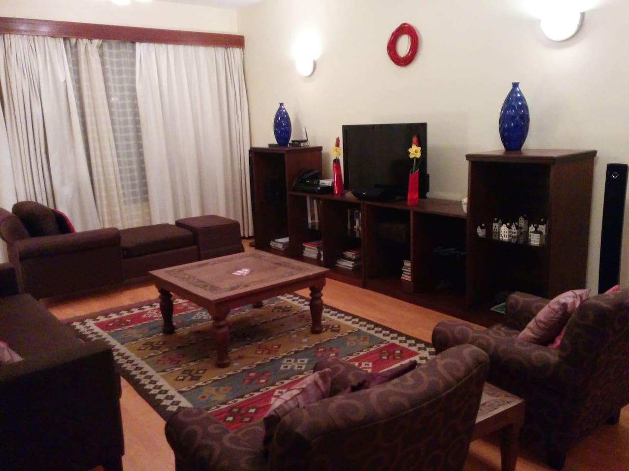 Warm stylish 3Br Kilimani apartment