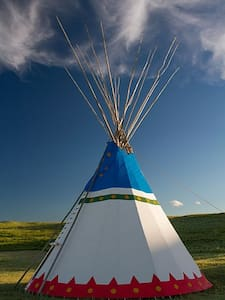 Blackfeet Tipi Village 6 - Browning