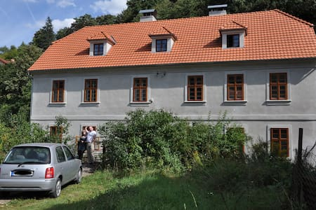 Apartment with castle view - Nizbor - Huis