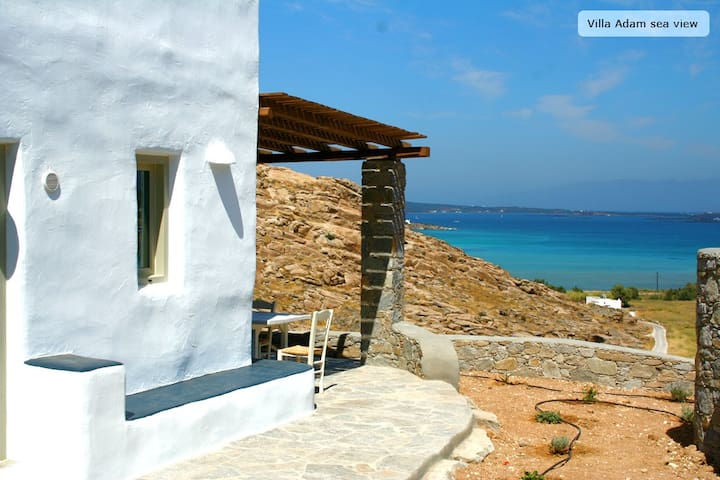 Villa Adam-traditional house, Paros - Naousa - Hus