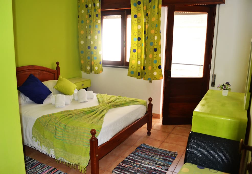Double room with balcony Ria Guest House Alvor