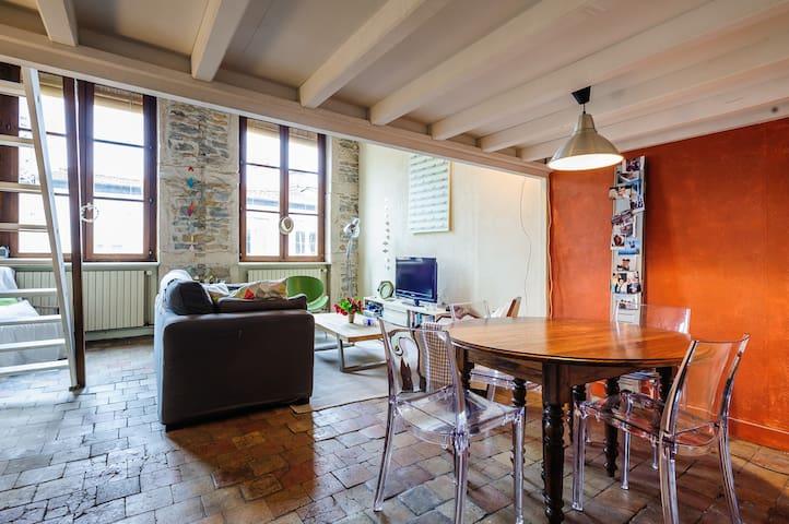 Appartement atypique au coeur de Lyon - Lyon - Byt