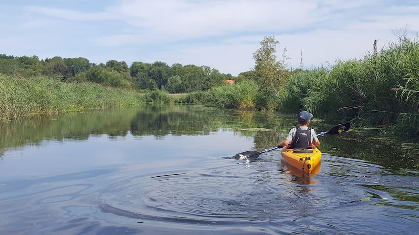Bad Oldesloe zw. Hamburg & Lübeck-naturnah,zentral