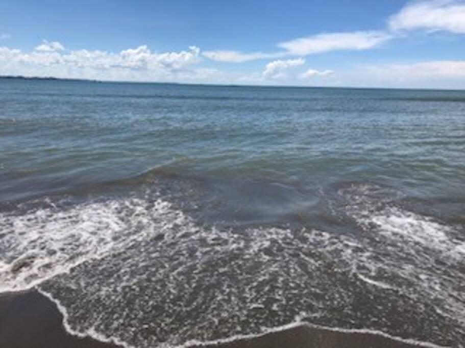 Waterfront over looking Guimaras Island