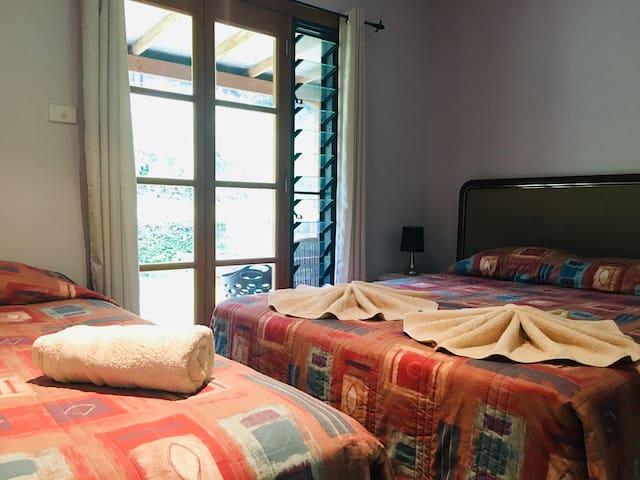 Bedroom Two-Ground floor