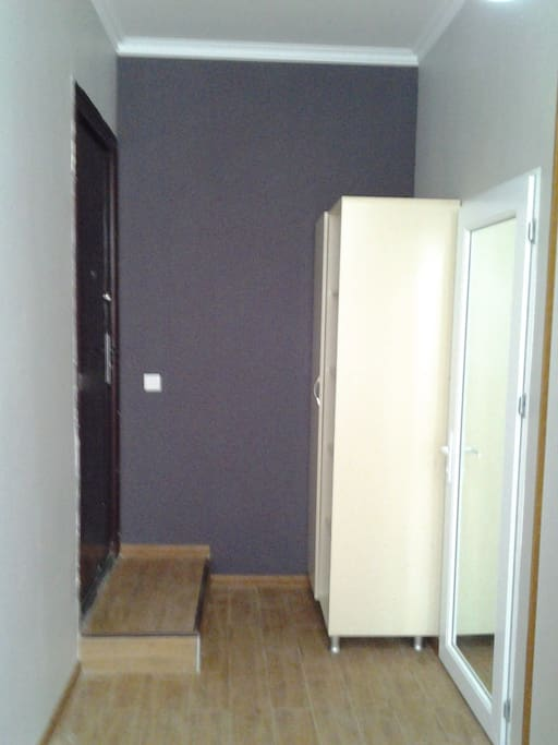 Hall with wardrobe