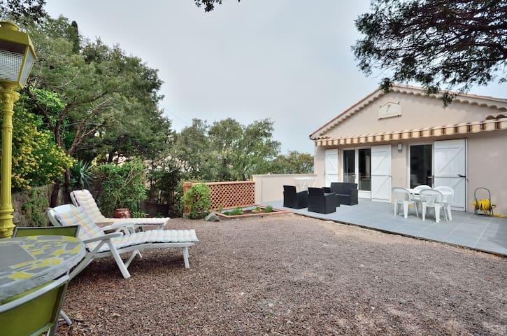 T2 45m² + terrasse/jardin expo sud - Saint-Raphaël - Apartemen