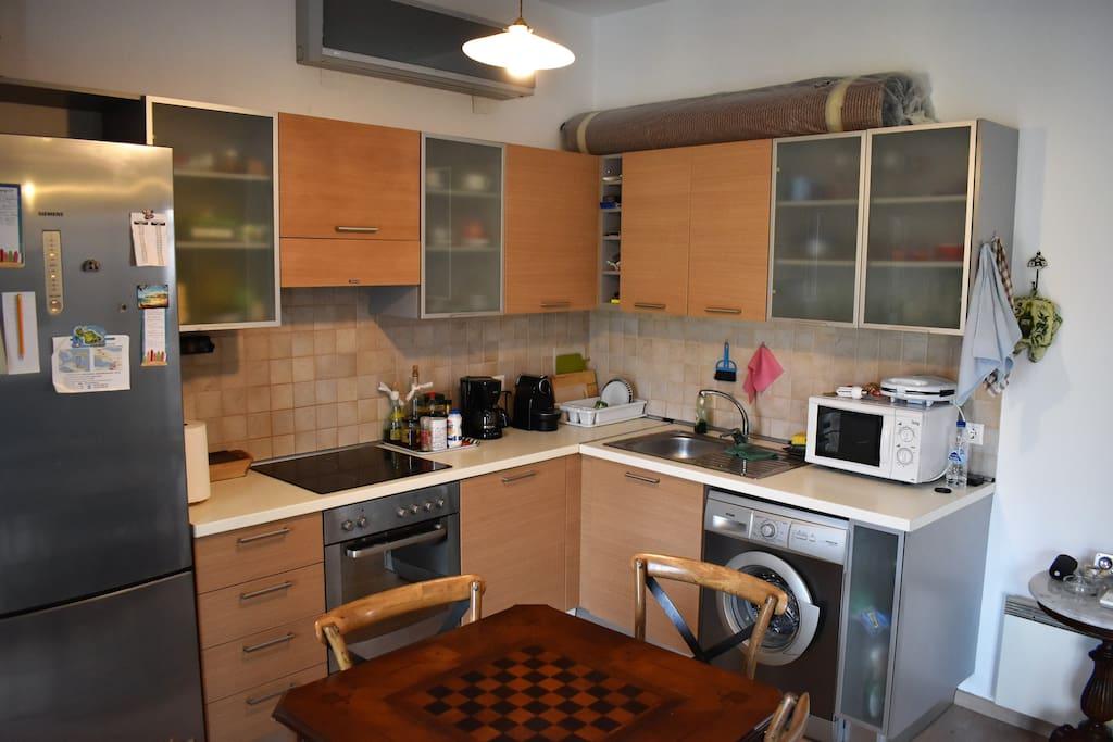 Kitchen (living room)