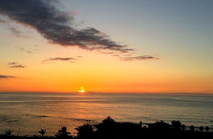 Sol, mar, buenas vistas y relax.