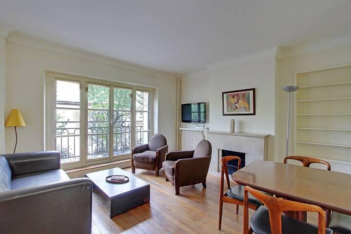Refined Two Bedrooms Marais - Parijs - Appartement