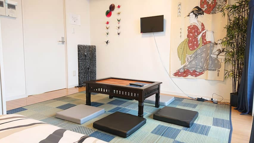 No.7 Best position in Hakata! 5min from Canal city