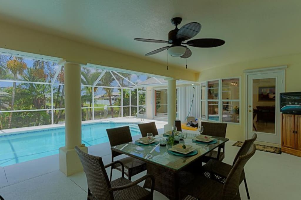 Sunsets Canal Excellent Location Houses For Rent In Cape Coral Florida United States