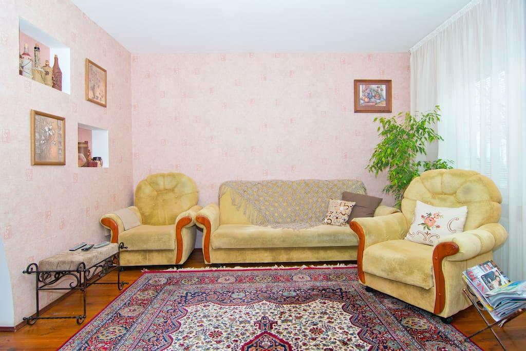 Общая гостевая комната