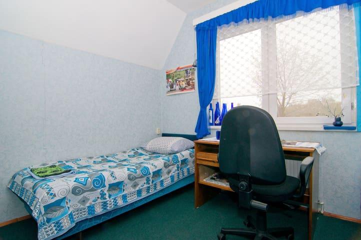 Синяя 2-х местная комната