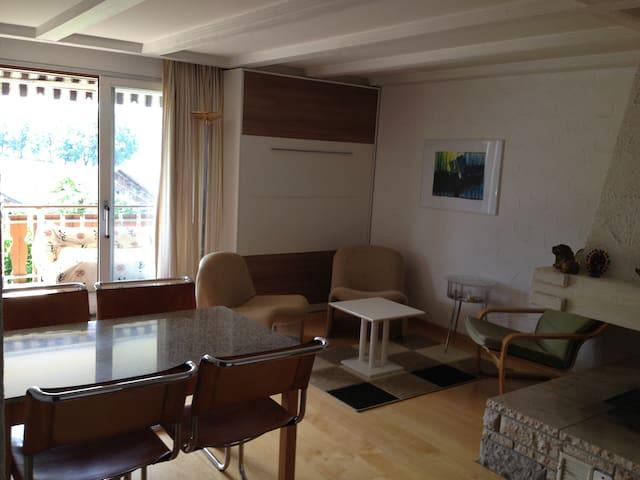 Schön gelegene Ferienwohnung - Falera - Apartament