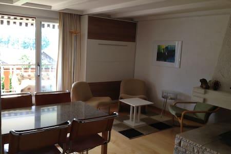 Schön gelegene Ferienwohnung - Falera - Appartement