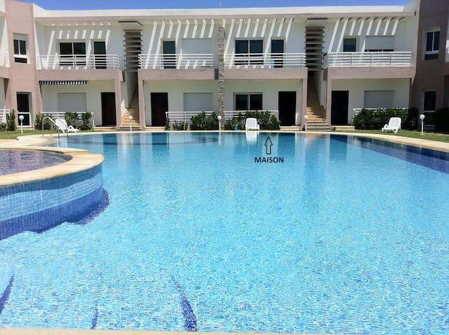 Belle maison de plage à Sidi Rahal