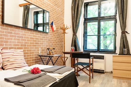 Cosy studio on a beautiful square - Prague - Apartment