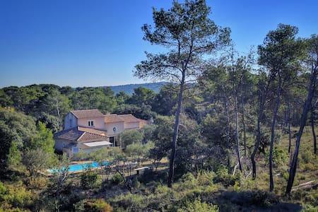Villa au coeur de l'olivette à l'abri des regards - Saint-Bauzille-de-Montmel