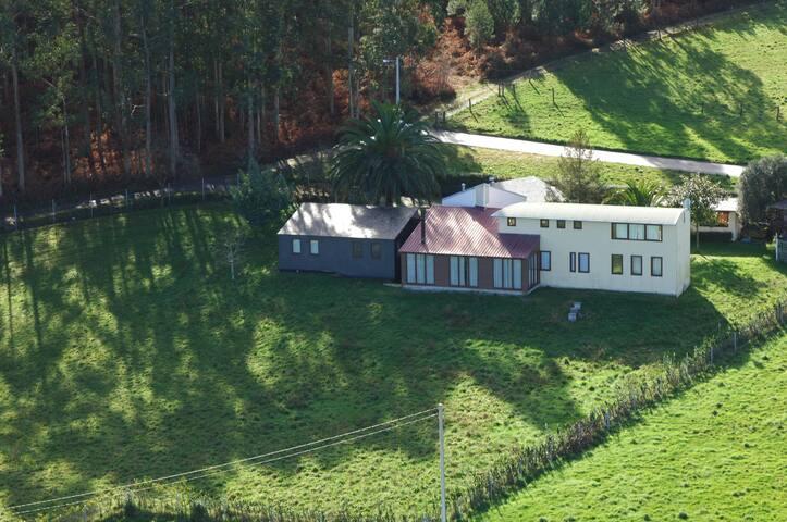Moderna casa en ambiente rural - Mouruso - Alpehytte