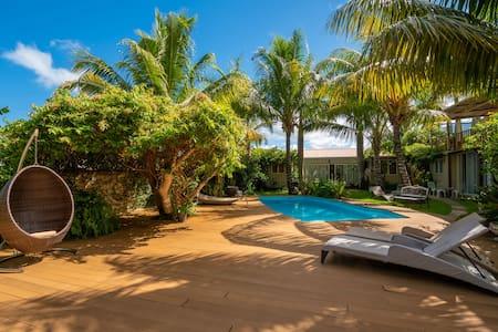 Appart exquis ★ Jardin, piscine ★ Proche Le Morne
