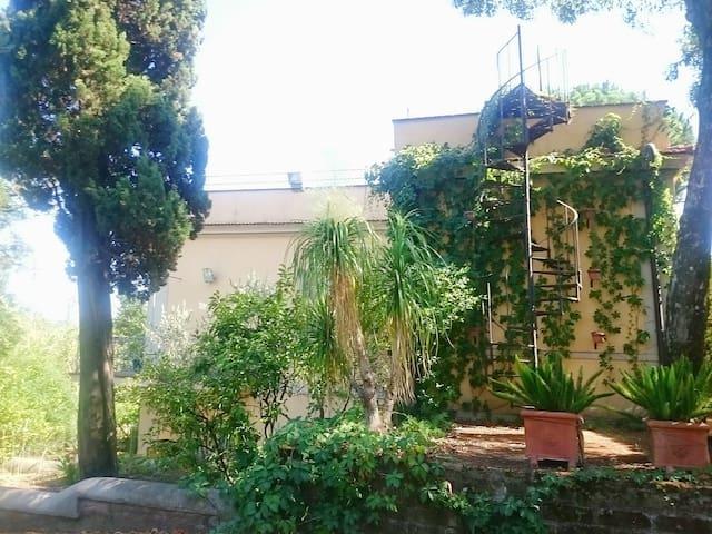 Villa with huge garden in the ancient Rome - Roma - Villa